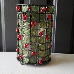 Holiday Candle Holder New